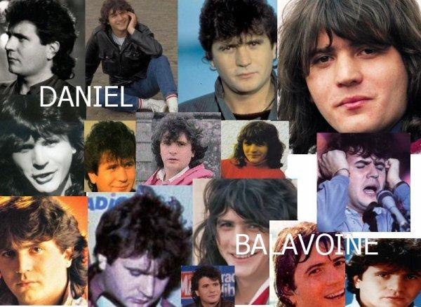 Quelques différentes coiffures de Daniel Balavoine