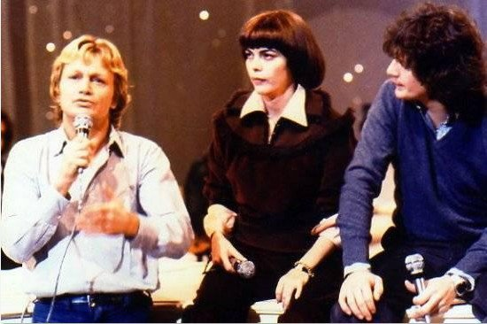 Claude François, Mireille Mathieu et Gérard Lenorman.