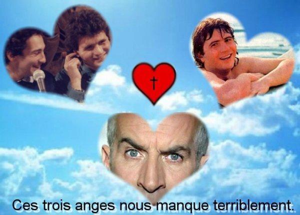 Daniel, Louis et Michel