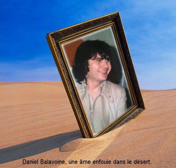 Daniel, une âme enfouie dans le désert