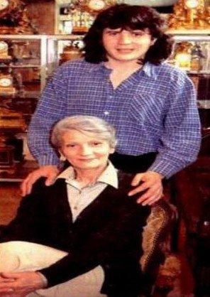 Daniel et sa mère Élisabeth