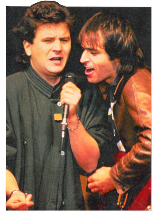 Daniel Balavoine et Jean-Jacques Goldman