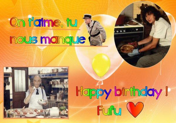 Bon anniversaire à toi, Fufu !