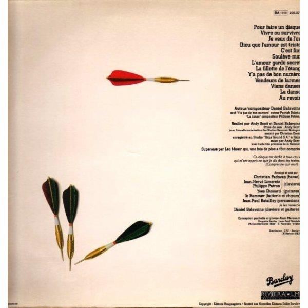 """Le 33 tours double de l'album """" Vendeurs de larmes """""""