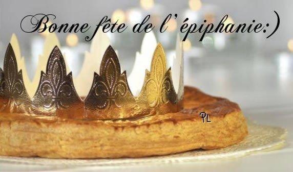 Bonne fête de l'épiphanie :)
