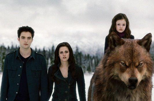 edward bella renesmée et le loup garou jacob