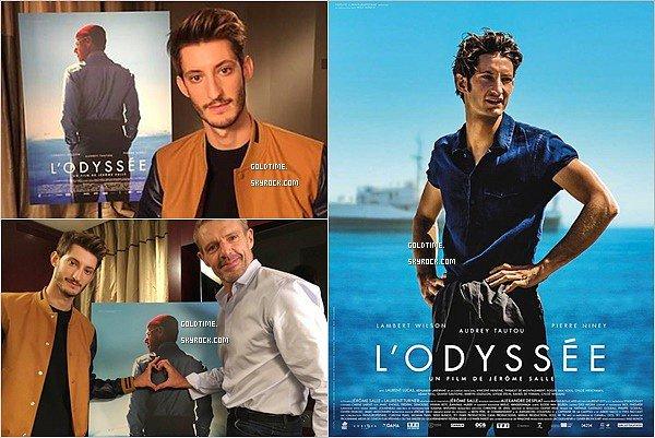 _ 26/09 : Pierre Niney répondait en direct aux question sur le film L'Odysée sur Allociné . Rappel : le film sortira en salle le 12 octobre. Découvrez également une nouvelle affiche du film avec Pierre.