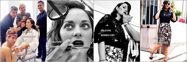 _ 04/07 : Marion Cotillard assistait au défilé Dior automne hiver pour la saison à venir à Paris  Personnellementc'est un gros coup de coeur pour sa tenue, je la trouve très chic ! Vos avis ?