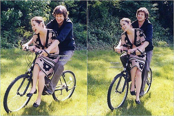 _ 2003: Marion Cotillard & Guillaume Canet réunis pour un photoshoot en pleine nature. Personnellement, j'adore ce shooting ! Marion et Guillaume sont hyper complices et ont l'ar tellement heureux, TOP !