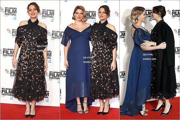 """_ 15/10: Marion et Léa présentait """"Juste la fin du monde"""" au BFI à Londres. Les deux mamans sont justes subimes ! Elles étaient accompagnées du réalisateur, Xavier Dolan.Vos avis ?"""