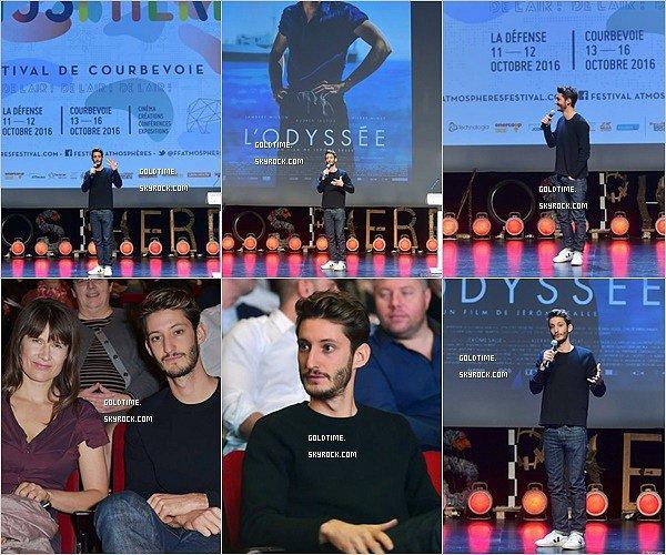 _ 13/10: Pierre ouvrait le Festival Atmosphère de Courbevois avec le film l'Odyssée. Pierre y a parlé de l'Odyssée qui est actuellement au cinéma ! Vos avis ?
