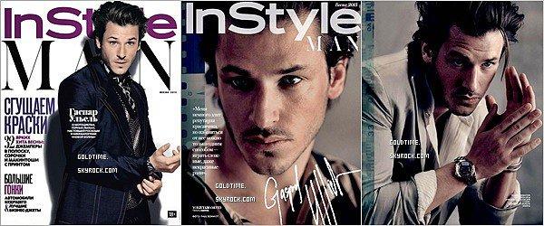 _  Printemps 2015 : Gaspard Ulliel prenait la pose pour le magazine Instyle Russia .  Personnellement, je trouve Gaspard fantastique sur ces photos, très élégant & juste à tomber ! Vos avis ?