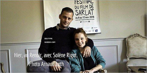"""_ 8/11 : Nicolas Duvauchelle ouvrait le Festival du film de Sarlat avec le film """"Orpheline"""".  Je trouve Nicolas tout beau et c'est un top pour les différentes tenues. Vos avis ?"""