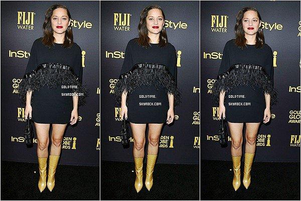 _ 10/11 : Marion & Gaspard à un évement par Instyle pour les Golden Globes à Los Angeles.  Je les trouves tout les deux très beau, et j'aime beaucoup la robe de Marion. Vos avis ?