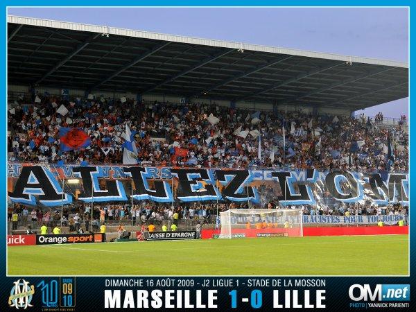 MARSEILLE , mon équipe favorite , ma vie (L)