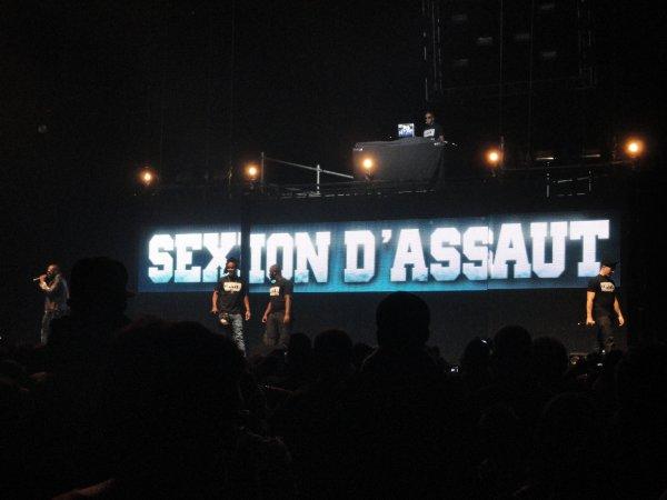 Concert de Sexion D'Assaut ♥
