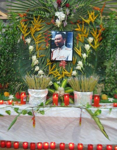 Dimanche 23 janvier 2011: Autel en mémoire du Général Vang Pao