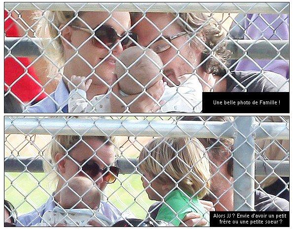 ♦Photos de la semaineLors de sa dernière sortie, on a put voir Britney qui tenait un bébé dans ses bras. Ses photos sont adorables. Alors Brit envie d'avoir un autre bébé ?