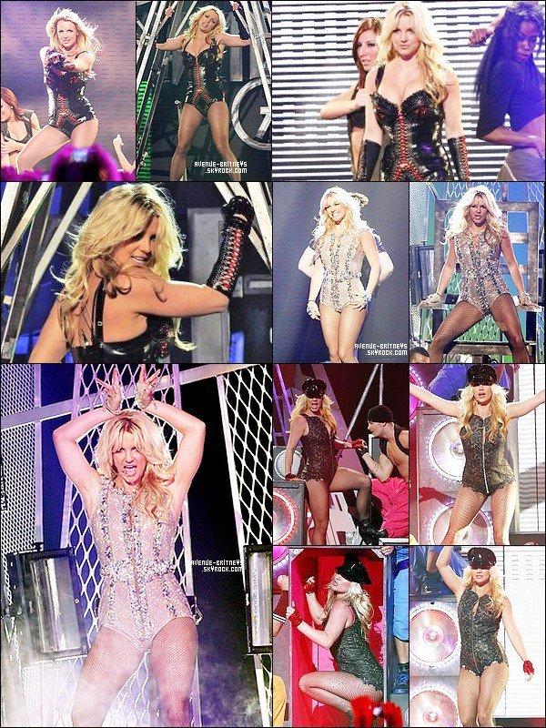 ♦PerformanceLe 29 mars Britney a effectué 3 performance à Good Morning America aux Etats-Unis. C'était son premier passage télé pour l'ère Femme Fatale.