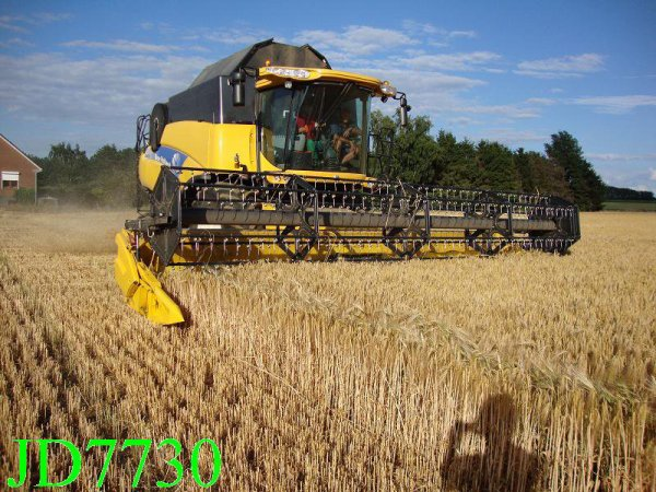 new holland en pleine action
