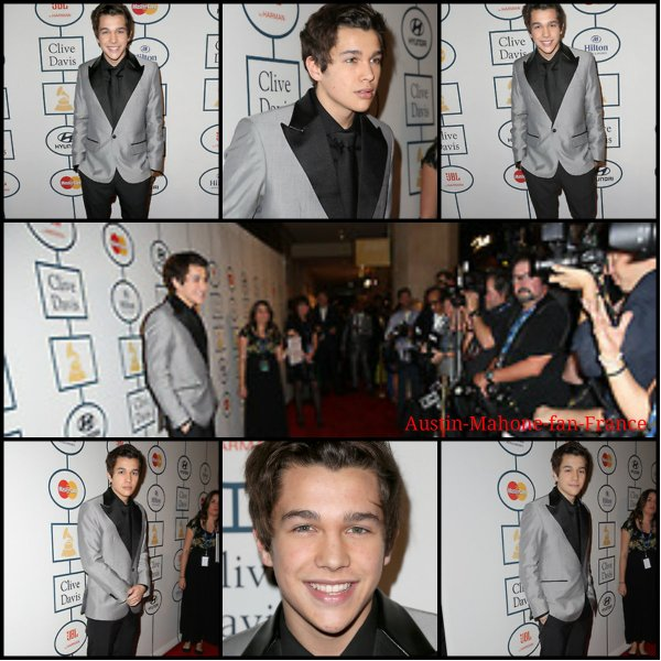 Austin au Grammy Awards 2014 à Los Angeles.