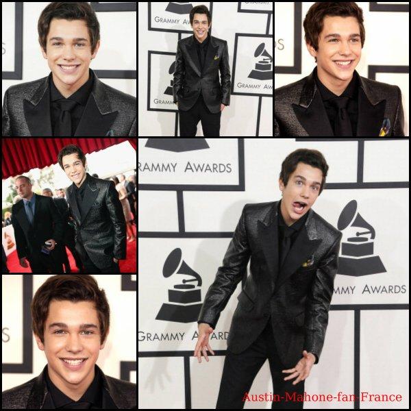 Austin au Grammy Awards 2014 à Los Angeles.
