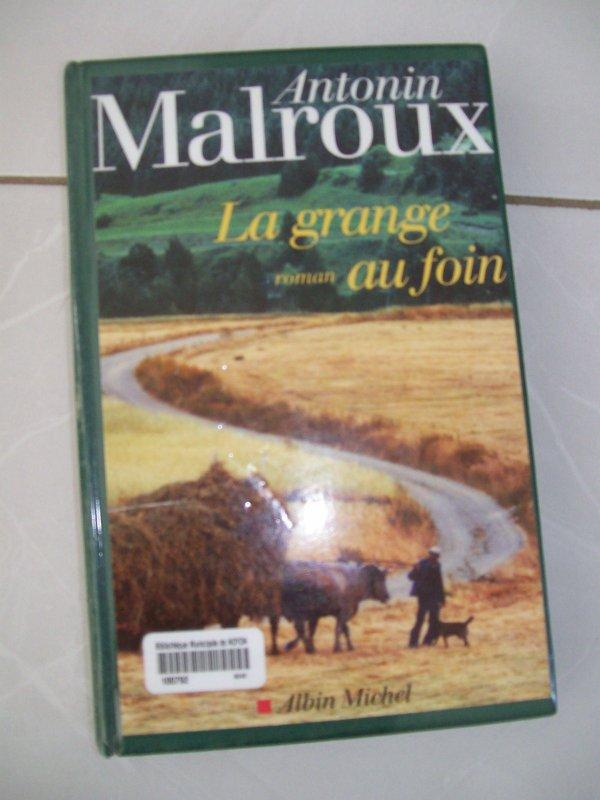 Livre ==> La Grange au foin d'Antonin Malroux