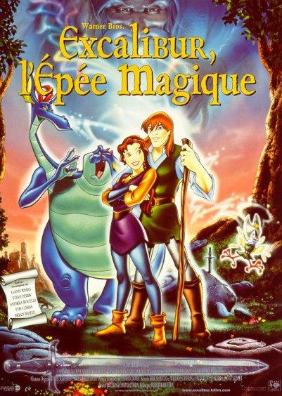 Excalibur l 39 p e magique blog de prince et puissance - Dessin anime chevalier de la table ronde ...