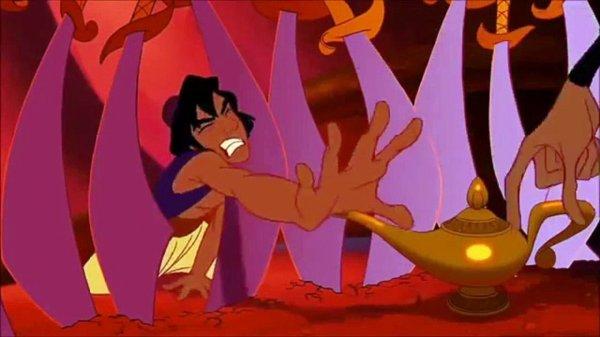 Jafar vs Aladdin