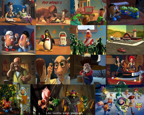 TOY   STORY 1, 2 & 3/ MONSTRES & Cie/ MONSTRES ACADEMY