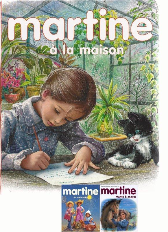 MARTINE A LA MAISON/ MARTINE EN VACANCES/ MARTINE MONTE A CHEVAL
