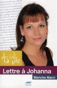 LETTRE A JOHANNA/ CHARLY de Blanche Marci
