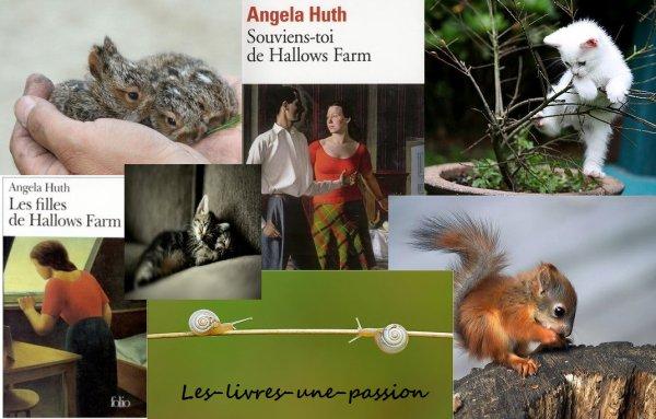 LES FILLES DE HALLOWS FARM/ SOUVIENS-TOI DE HALLOWS FARM de Angela Huth