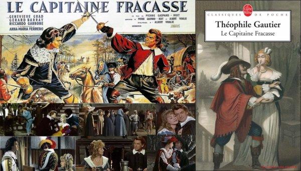 LE CAPITAINE FRACASSE de Théophile Gautier