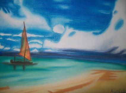 Paysage marin