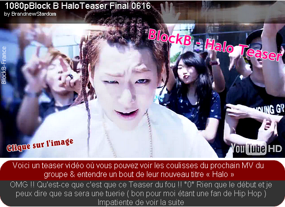 "Teaser ""Halo"" - Block B + Others News"