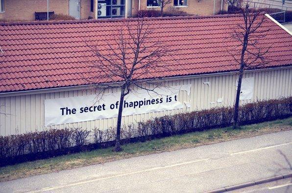 Le bonheur c'est mon copain.