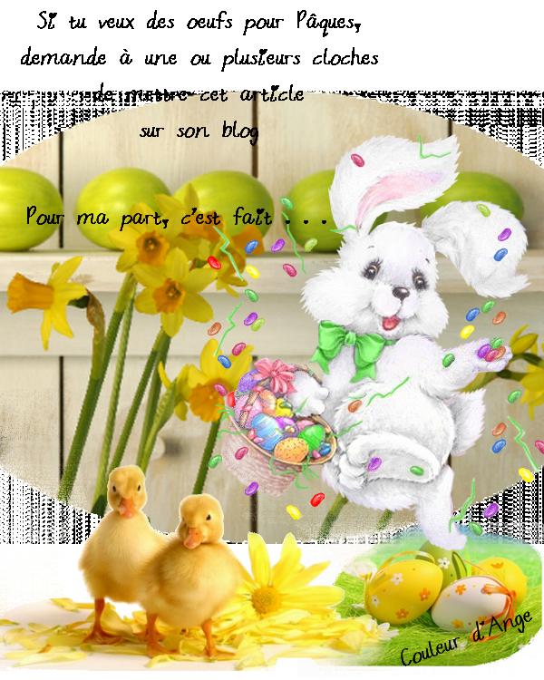 Joyeuse fête de pâques a tous
