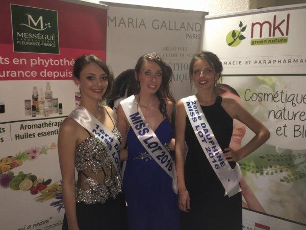 Miss Lot 2016 et Miss Halliun 2016 sont...