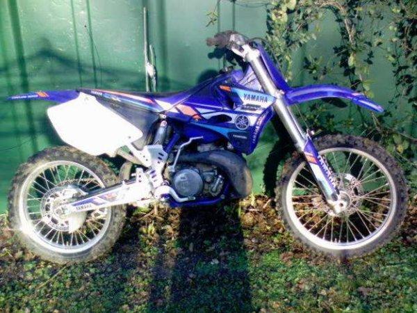 moto cross 125 YZ 2006