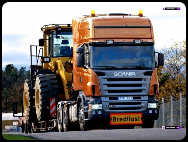 Scania R580 <3