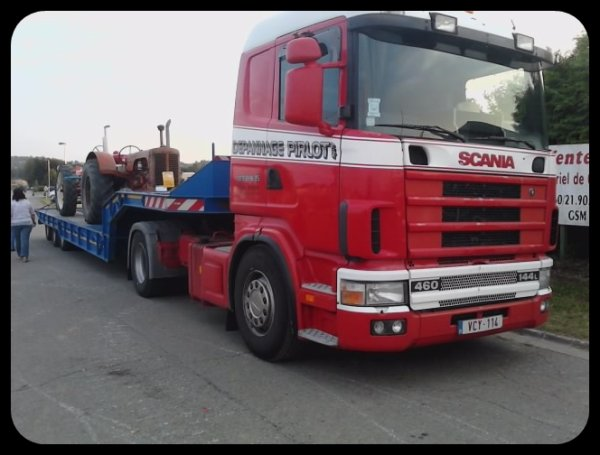 Scania R460 144l