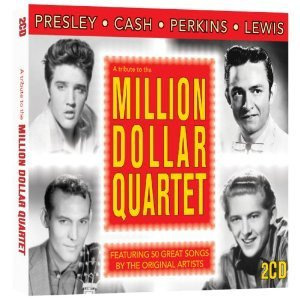The Million Dollar Quartet, Elvis, Johhny Cash, Carl Perkins. Jerry Lee ...