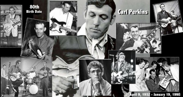 "Carl Perkins ""That's alright mama"""