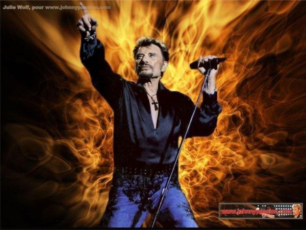 Johnny Hallyday et Eddy Mitchell Happy Birthday rock'n'roll V45 JE N AI QUE  DES DEFAUTS  MAIS J AI UN COEUR  QUI AIMES  QUI CHANTE   TONY