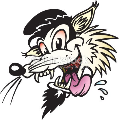 Pas peur du loup FOU FOU   LES LOUPS    AMITIE TONY