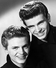 Everly Brothers - Cathy's Clown - HQ Audio ))) JOHNNY ET LES LEGENDES DU ROCK N ROLL   COOL  AMITIE TONY