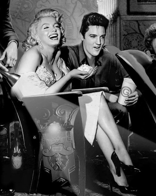 ELVIS PRESLEY and MARILYN MONROE - Part 2