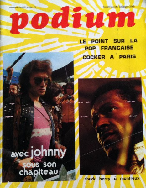 O Carole Johnny Hallyday bande son cd .wmv  JOHNNY  CHANTE CHUCK BERRY  MR  ROCK N  ROLL EST TOUJOUR VIVANT