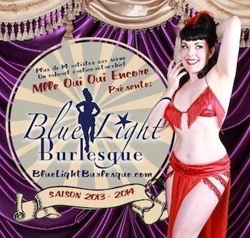 Mlle Oui Oui Encore, Blue Light Burlesque, Montréal, Canada